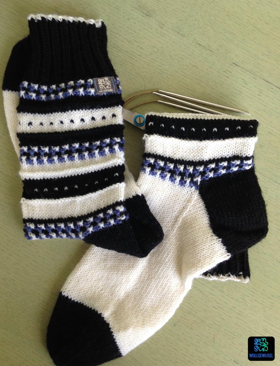 "Socken ""Anesa"" - Teststrick -"